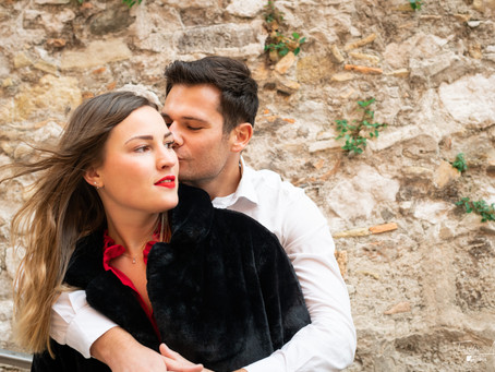 Séance photos couple dans le vieux Nice
