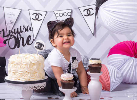 Smash Cake Chanel