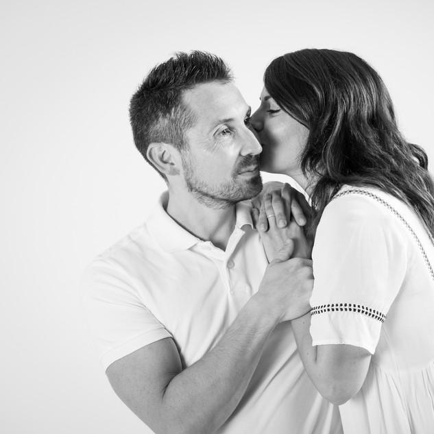 Séance couple en studio à Nice