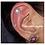 Thumbnail: Boucles d'oreilles grandes fleurs