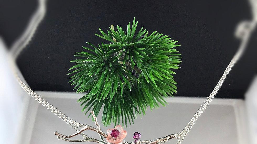 Collier fleur de cerisier (3)