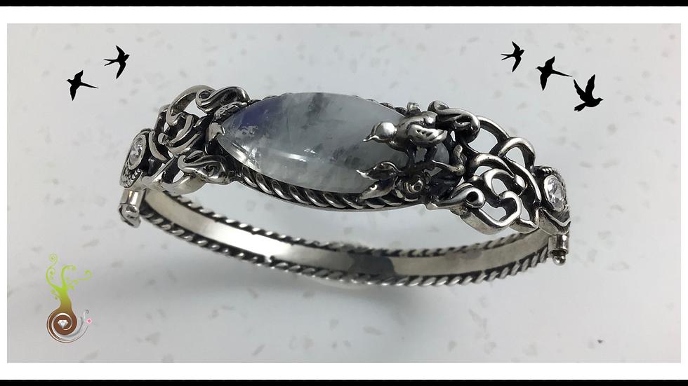 Bracelet oiseau de nuit