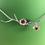 Thumbnail: Collier fleur de cerisier (3)