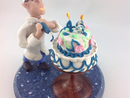 Un lutin pâtissier pour un anniversaire…