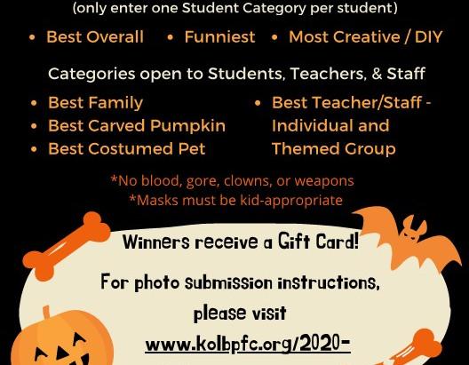 Kolb Virtual Halloween Contest 2020