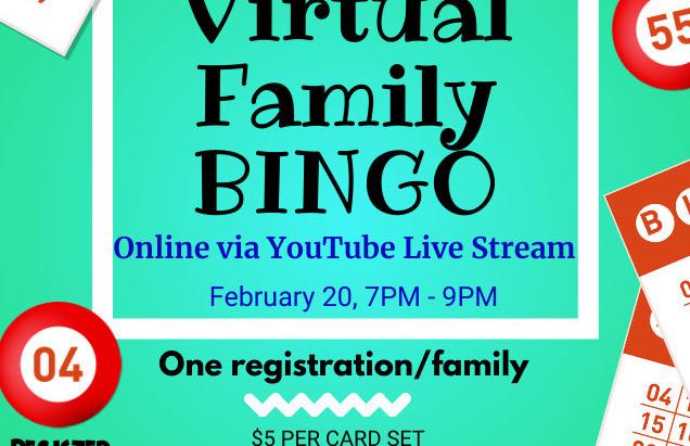 Virtual Family Bingo Night