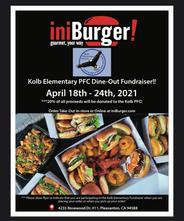 Kolb PFC Dine Out Fundraiser @iniBurger!