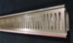 Ralo linear em inox, ralo linear,ralo sob medida na Gunther Metaller