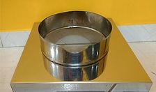 Base para chaminé de churrasqueira em inox
