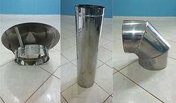 Chamine churrasqueira projeto...chaminé para churrasqueira, curva 90º,chapéu , chaminé para churrasqueira inox...Gunther Metaller  em  Porto Velho -  Rondônia ...WhatsApp (68) 9 9229-0242