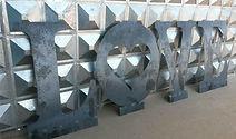 Elemento Vazado em ferro