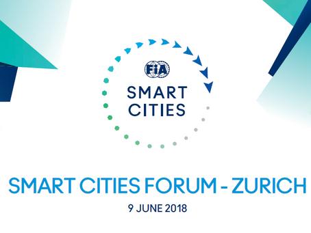 FIA Smart Cities Global start-up contest - Zurich