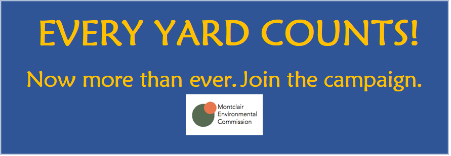 Every Yard Counts! Take action. Boast about it.