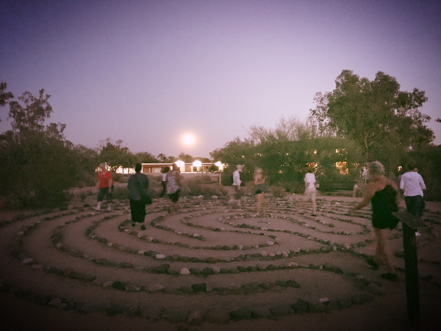 Labyrinth Release Walk