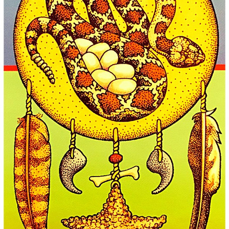 Fire Energy Medicine from the Snake Animal Guide