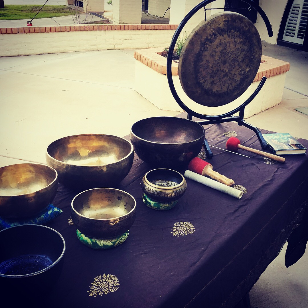 Tibetan Bowls & Gong
