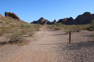 Butte Loop Path