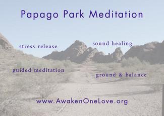 Papago Park Meditation