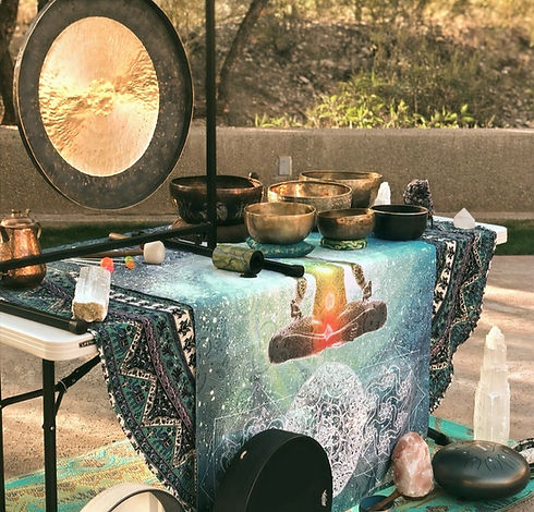 Sound Healing Table