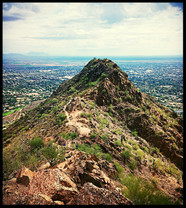 Peak of Camelback Mountain