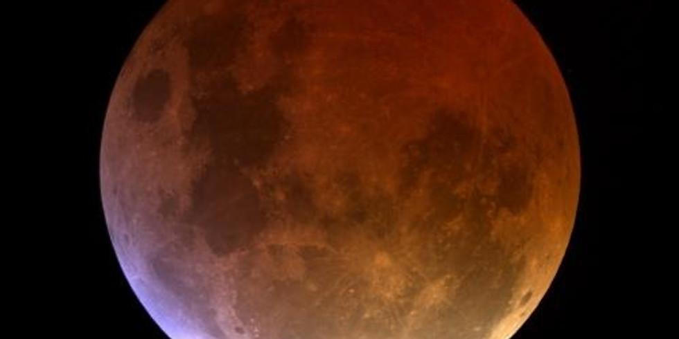 Lunar Eclipse & Full Moon Meditation, Sound Healing, Labyrinth Walk & Fire Release