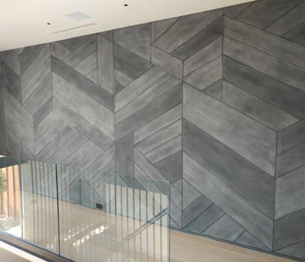 Concrete Deconstructed Herringbone