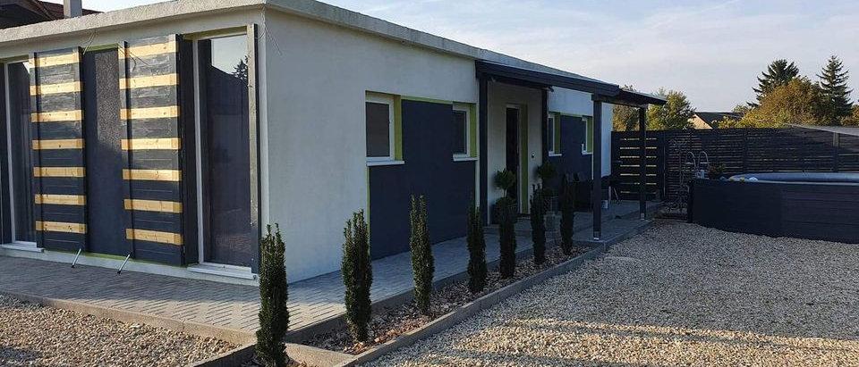 PG-22 - Modernes Modulhaus - 60 m2 mit allem Invertar - Pool - 800 m2 Grundstück