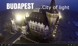 """Budapest """"City of light"""""""