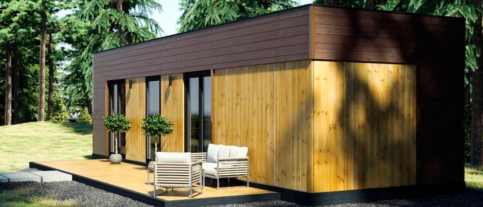 Nagelneues 35 m2 Mobilehome - mit komplett Ausstatung