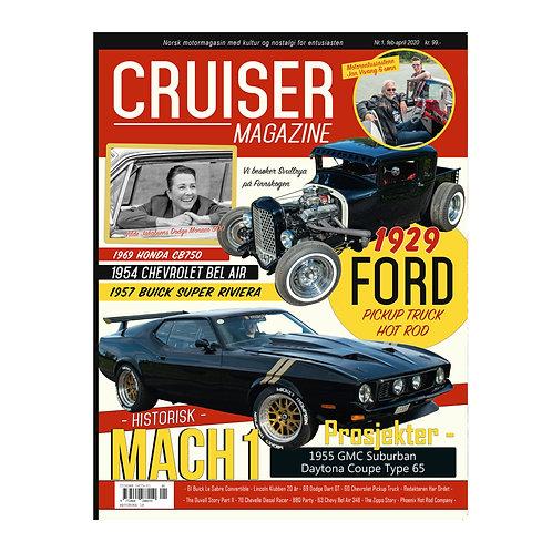 Cruiser Magazine Nr. 1-2020 - Februar - April.