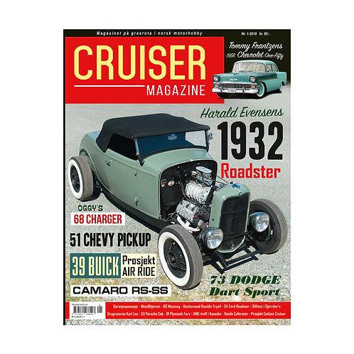Cruiser Magazine nr. 1 - 2018