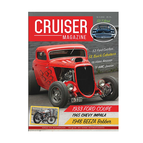 Cruiser Magazine nr. 3 - 2016.