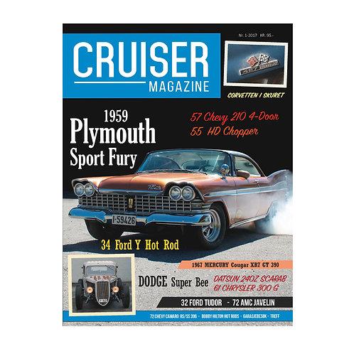 Cruiser Magazine nr. 1 - 2017.
