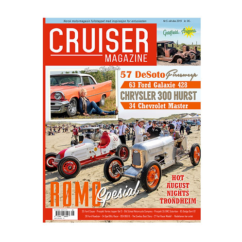 Cruiser Magazine Nr. 5-2019 - Oktober - Desember.