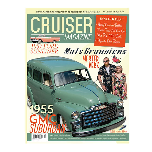 Cruiser Magazine nr. 4 - 2020 september-oktober