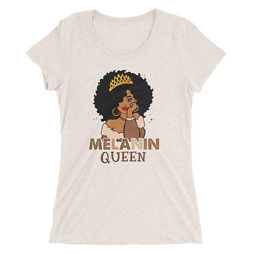 Melanin Queen Ladies' short sleeve t-shirt