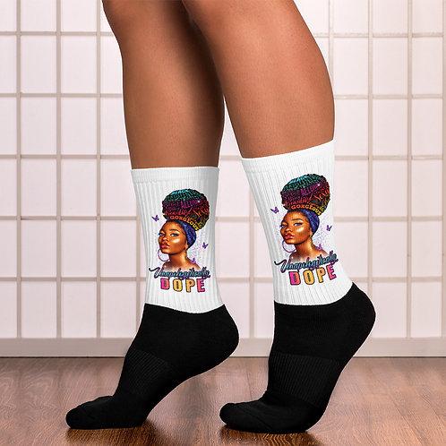 Unapologetically DOPE II Socks