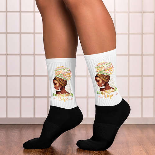 Unapologetically DOPE Socks