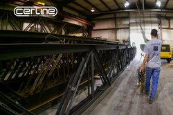 Indiana Cerline Fabricating Warehouse Sandblasting & Painting
