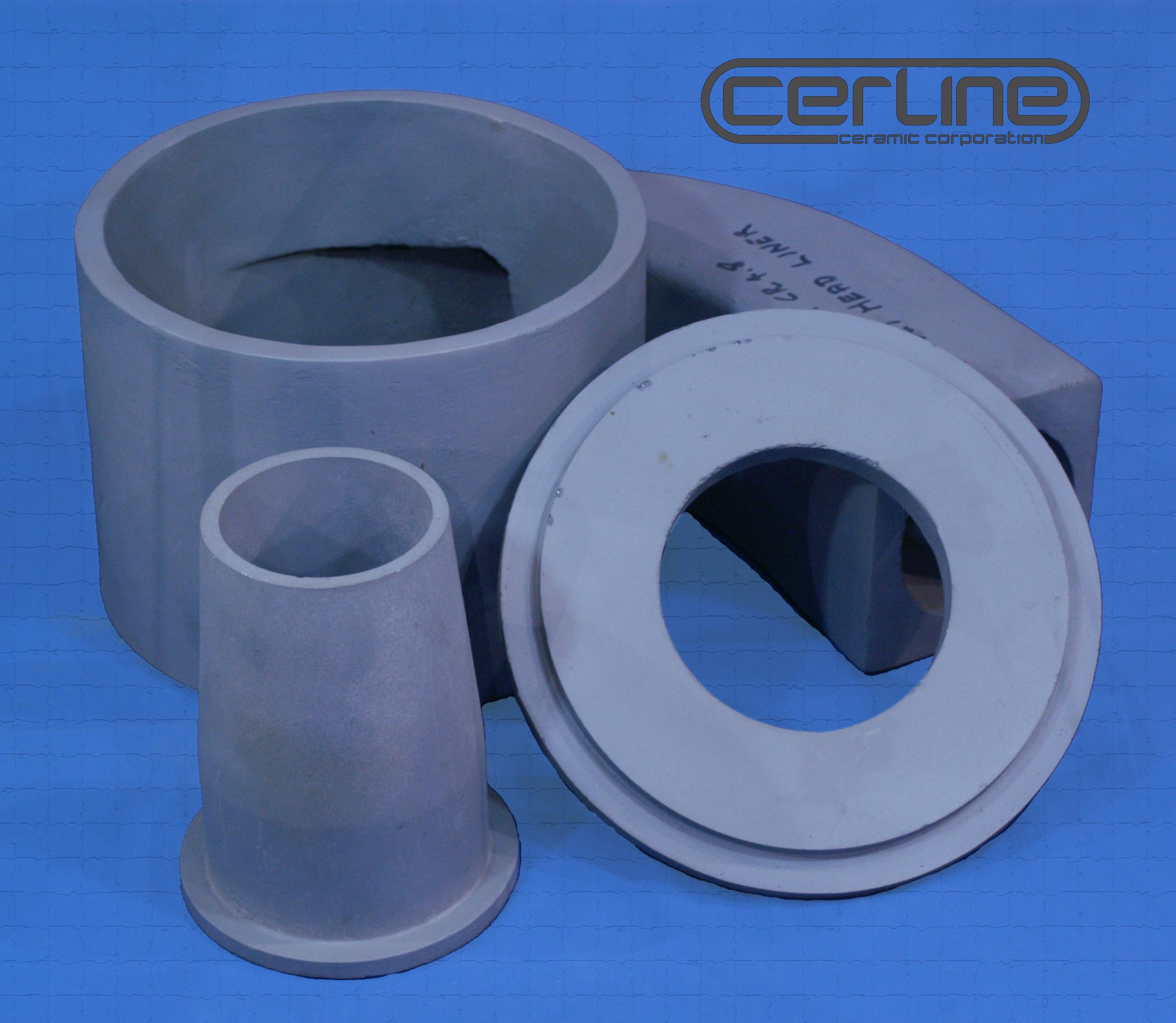 Cerline Abrasive Resistant Ceramic Head Liners