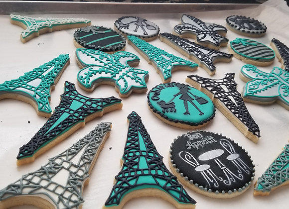 Complex Decorated Cookies