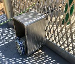 Backflow Cage Lock Shroud