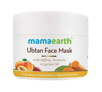 MamaEarth Ubtan Face Mask for Skin Lightening & Brightening