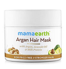 Mamaearth Argan Hair Mask for frizz-free & stronger hair
