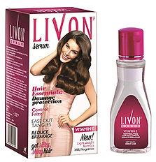 Livon Hair Serum for Frizzy & Dry Hairs