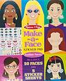 Melissa & Doug Make-A Face Sticker Sheets (2 Books)
