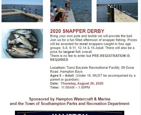 2020 Snapper Derby