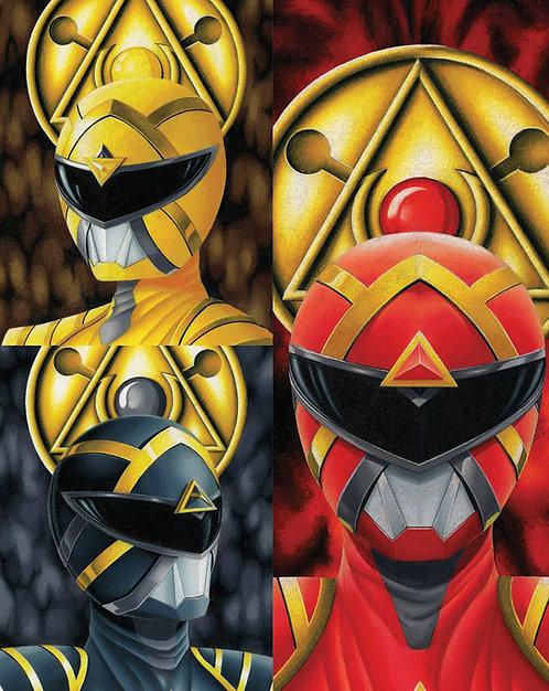 Power Rangers #1 Andréas Mischke Variant