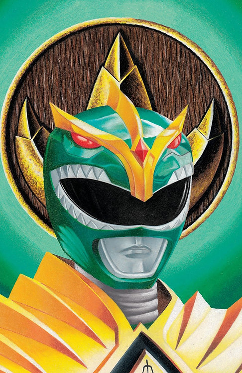 Mighty Morphin Power Rangers #55 Andréas Mischke Variant