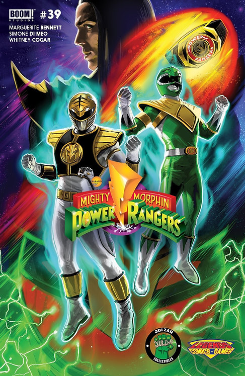 Mighty Morphin Power Rangers Exclusive #39 DBZ Super Broly Variant